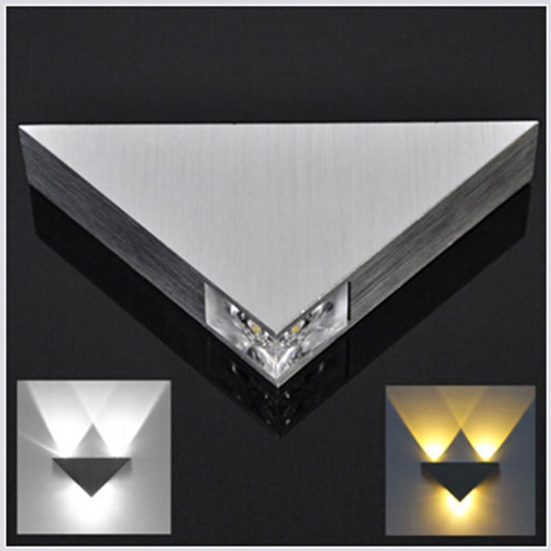 Day White Modern 3W Wall Light Up Down LED Sconce Lighting Lamp Indoor