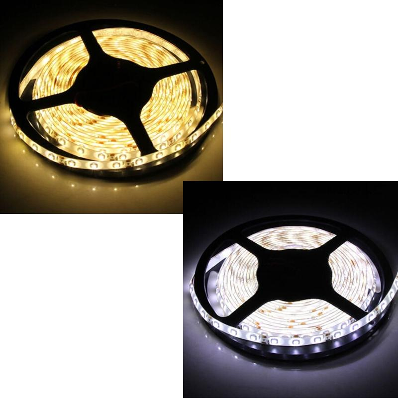 5m 3528 led strip lichtschlauch lichtleiste 60 m ip65 warmwei kaltwei wei 12v ebay. Black Bedroom Furniture Sets. Home Design Ideas