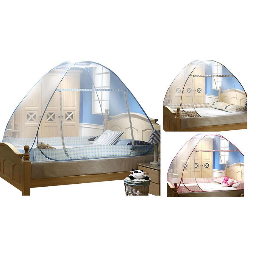 Folding Bed Automatic : Automatic mosquito insect net canopies folding bed netting