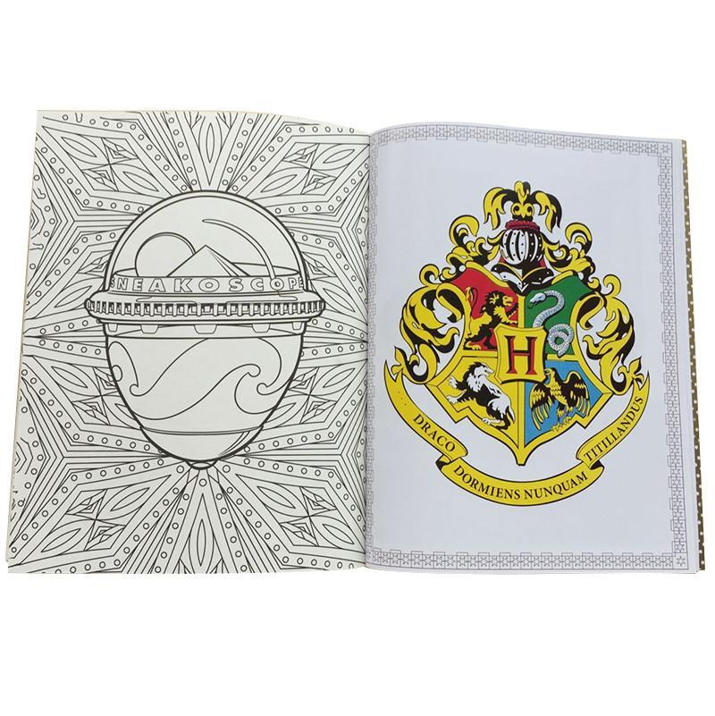 Harry Potter Coloring Books For Adults Unisex Kill Stress