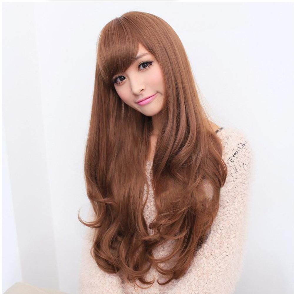 轻年女可爱卷发发型图片