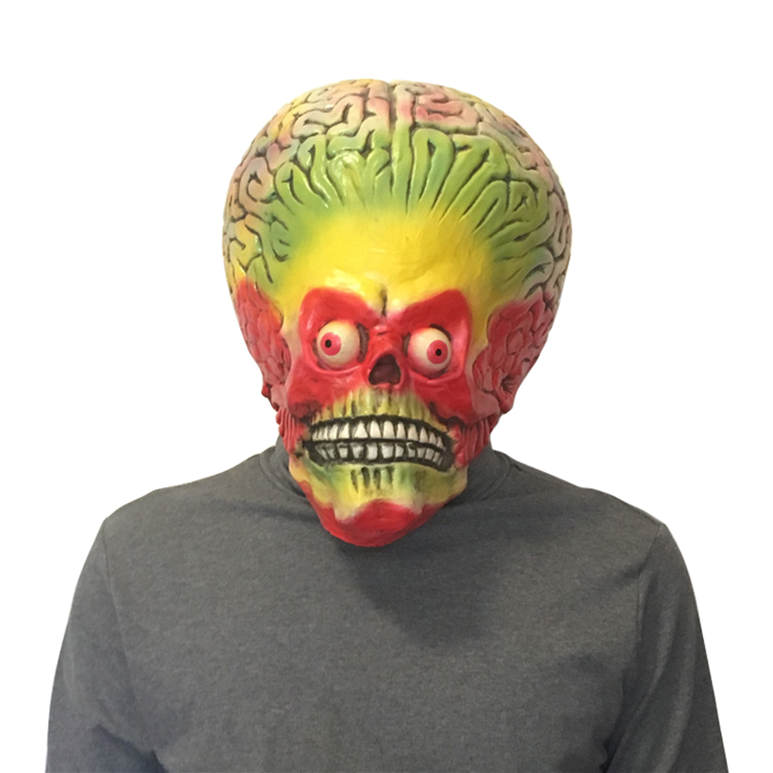 33100100d84 Details about The Devil Alien Horror Adult Halloween Mask Cosplay Funny  Scary Halloween Gift
