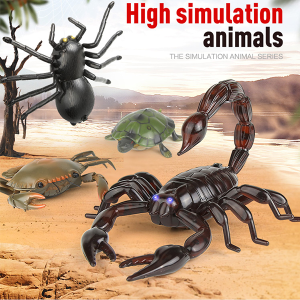 High Simulation Animal Scorpion Infrared Remote Control Kids Toy Gift US STOCK