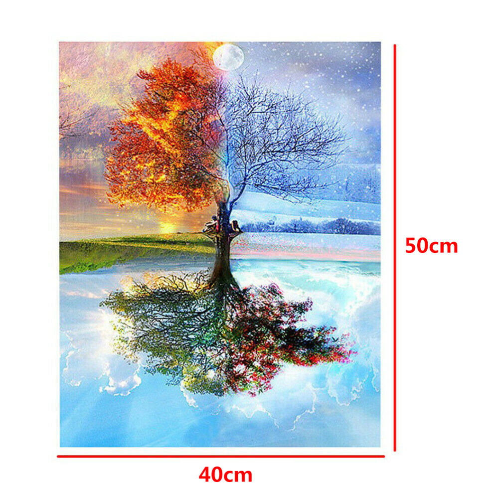 Color Abstract Beauty 40 x 50 cm Painting By Numbers Kit On Canvas DIY Paint Set