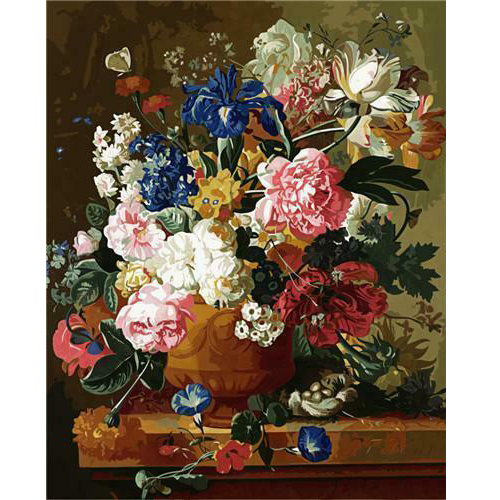 Oil Painting Flower In Vase Painting By Numbers Paint Flower DIY Canvas Picture